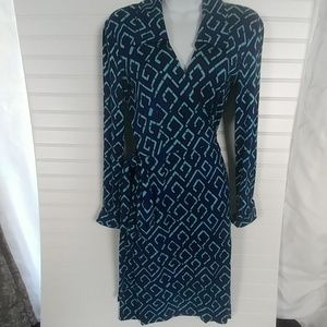 Diane Von Furstenberg Wrap Dress Sz 6